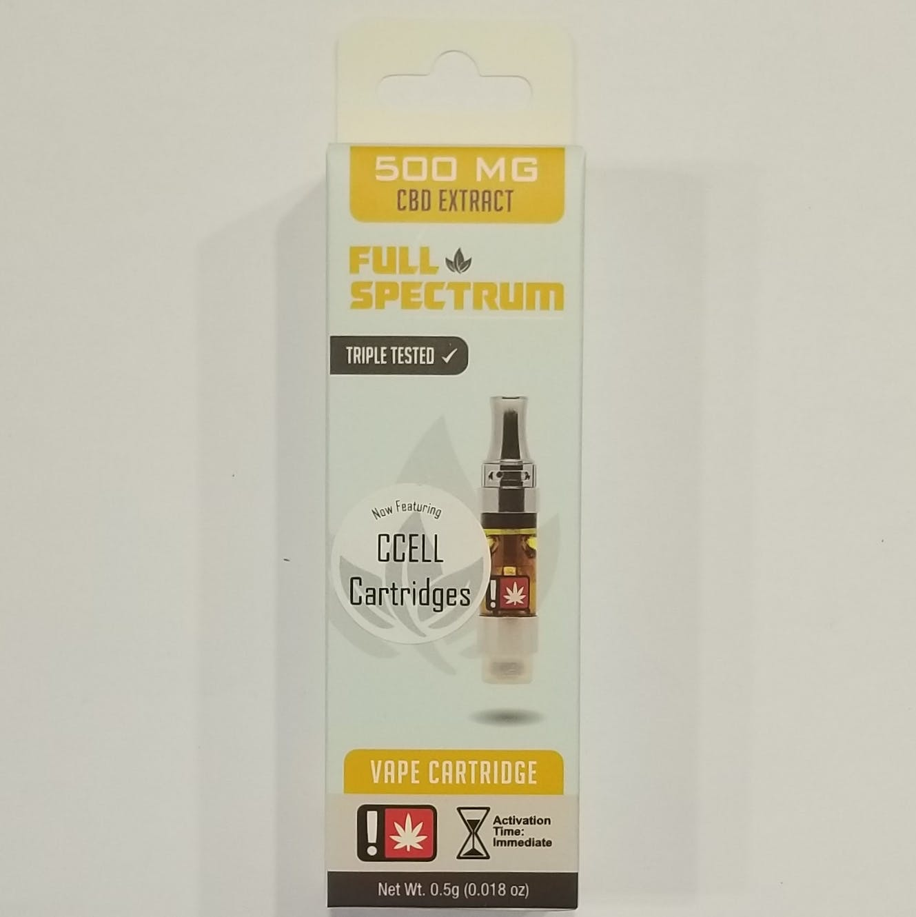 .5g Full Spectrum CBD Cartridge