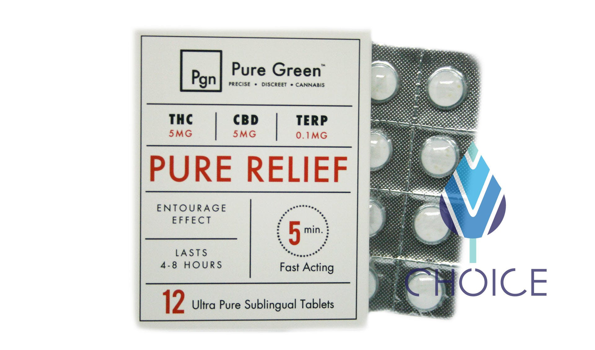 marijuana-dispensaries-choice-exit-145-in-jackson-12-pk-pure-relief-cbdthc-tablets-by-pure-green