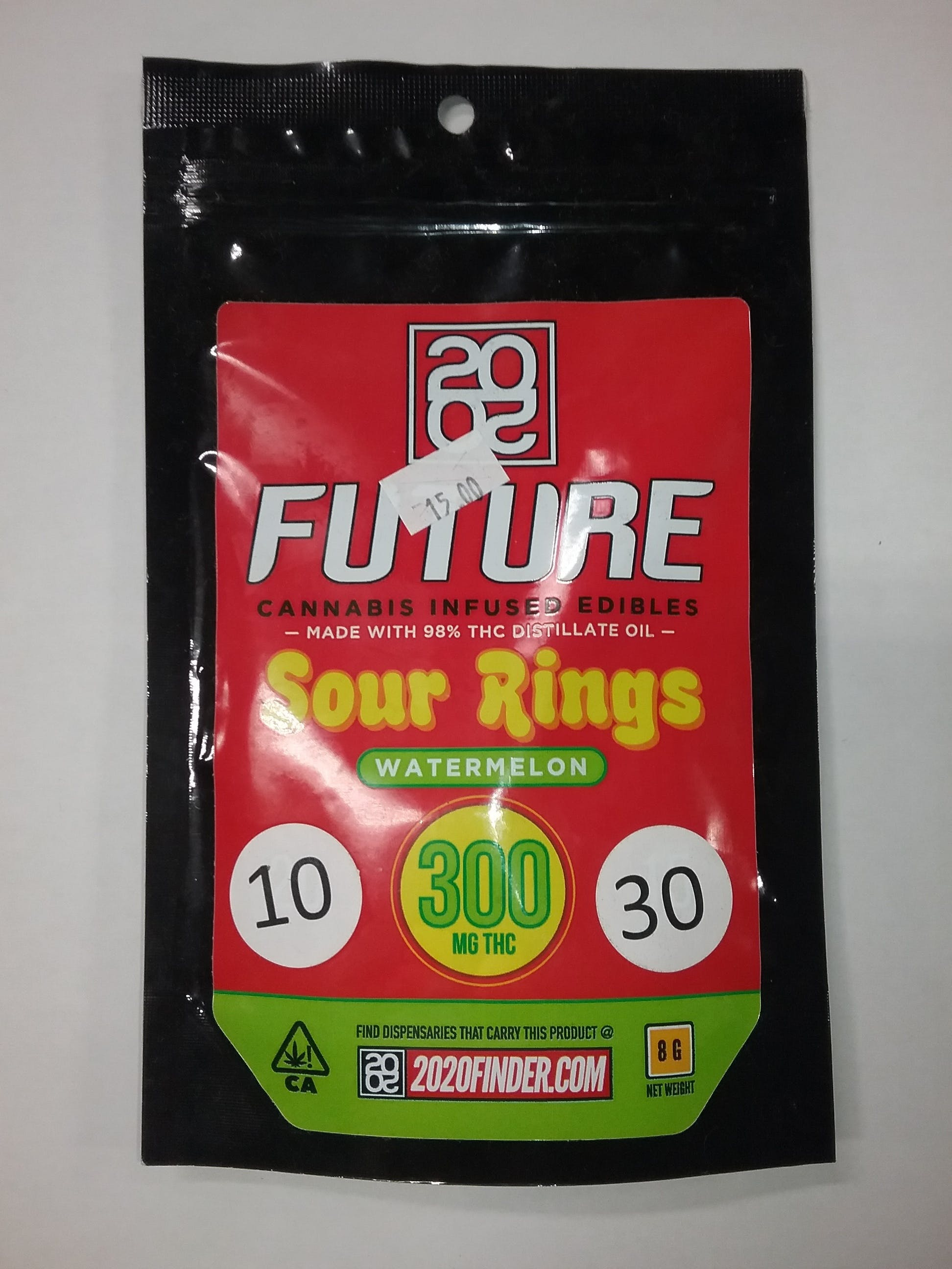 20/20 FUTURE SOUR RINGS 300mg (WATERMELON), Weed Mart