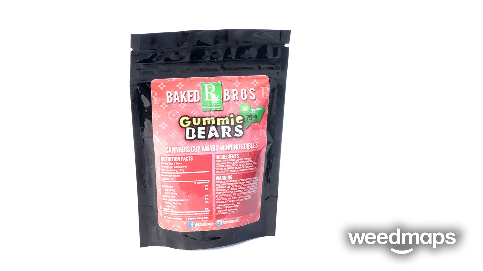 edible-baked-bros-75mg-gummies-assorted-flavors