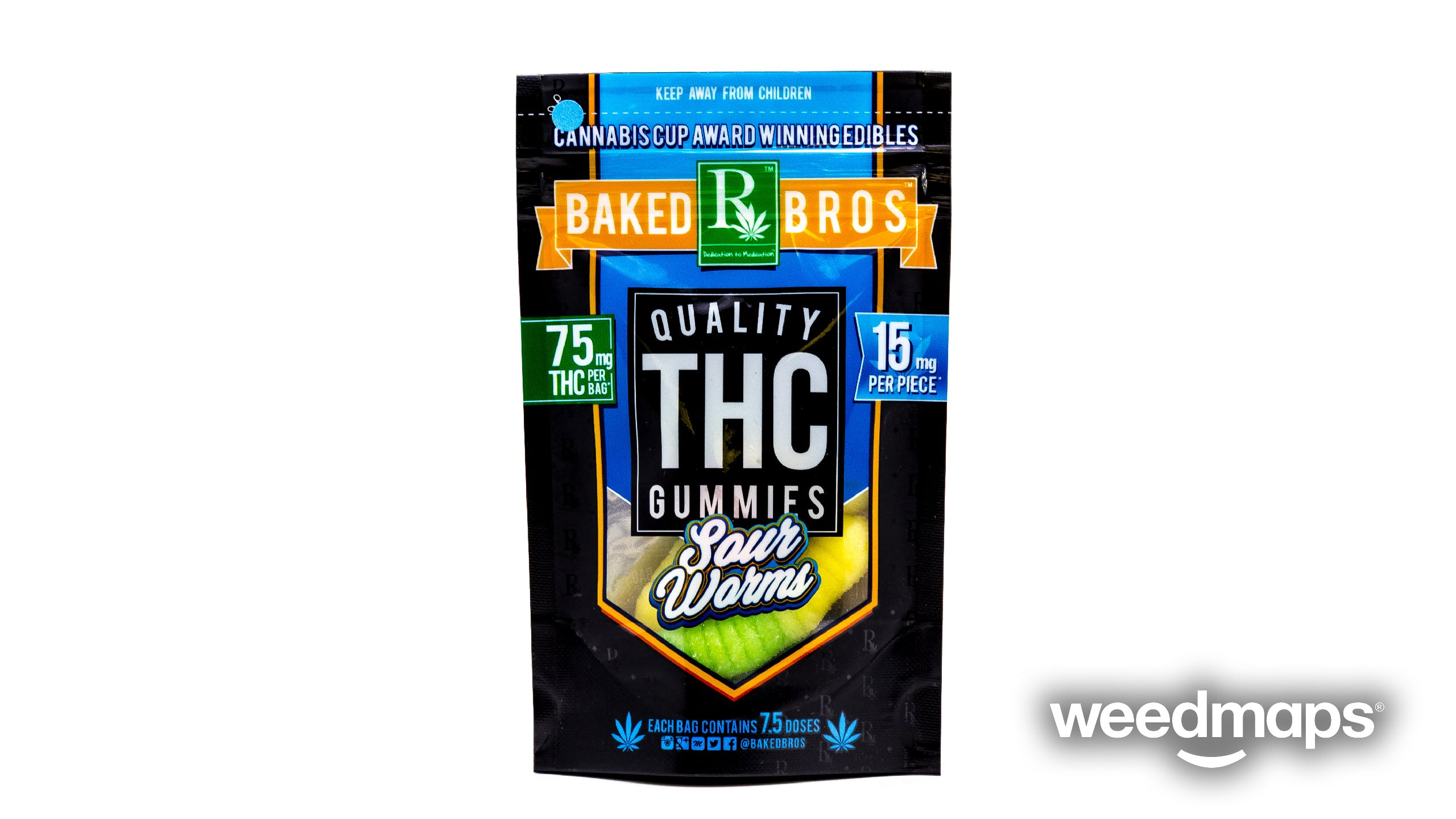 marijuana-dispensaries-d2-dispensary-in-tucson-baked-bros-sour-gummie-worms-150mg