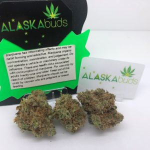 Blueberry THC 21.33% from ALASKAbuds