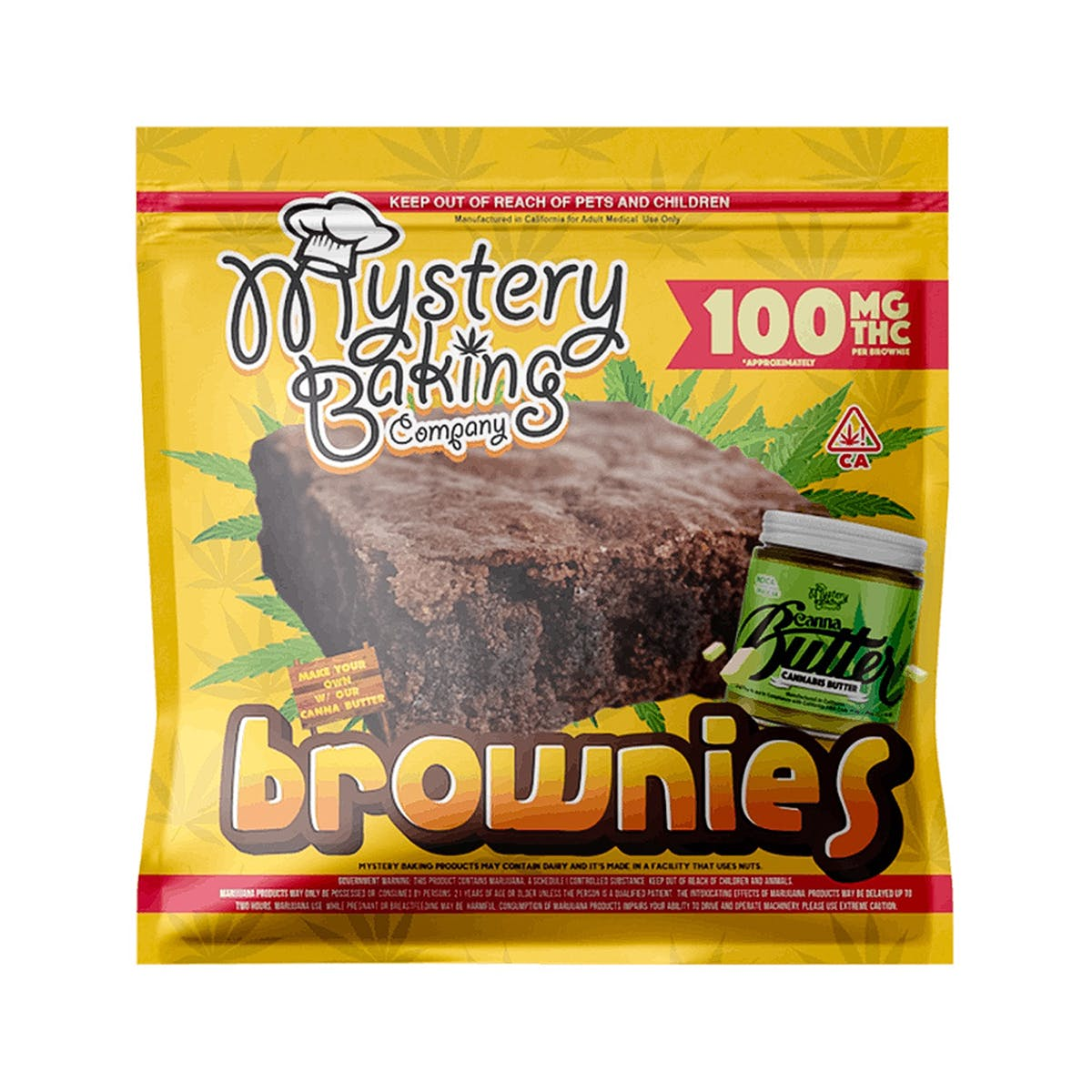 marijuana-dispensaries-county-line-organics-in-ridgecrest-brownies-100mg