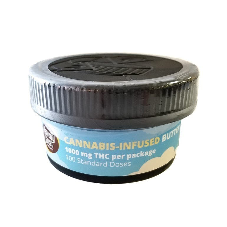 Cannabutter 1000mg 4oz. Container