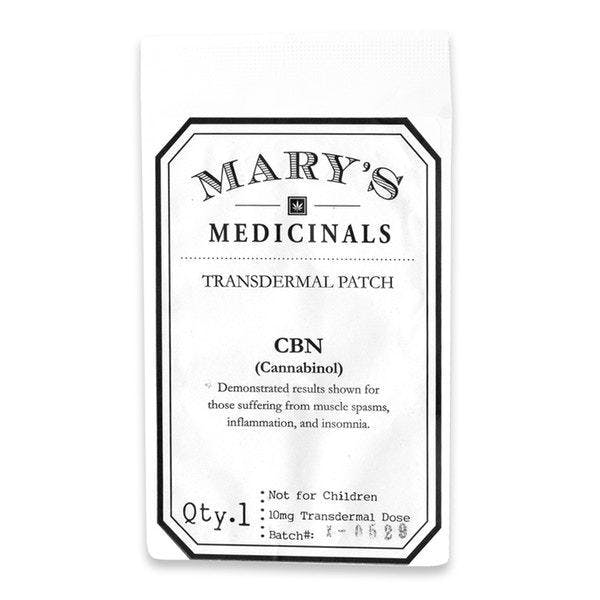 -cbn-transdermal-patch