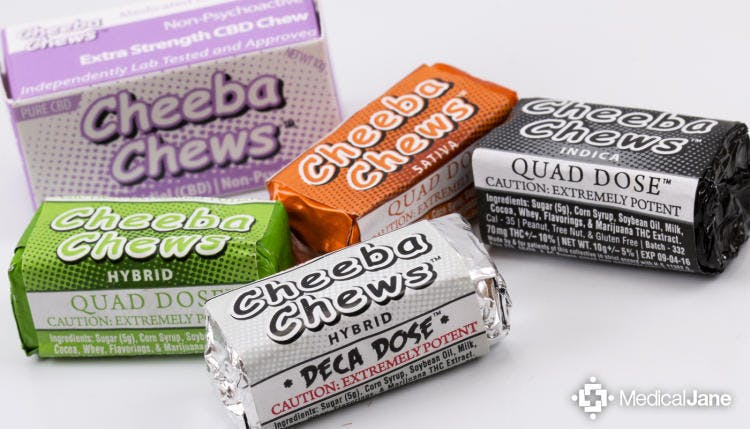Cheeba Chews 70MG