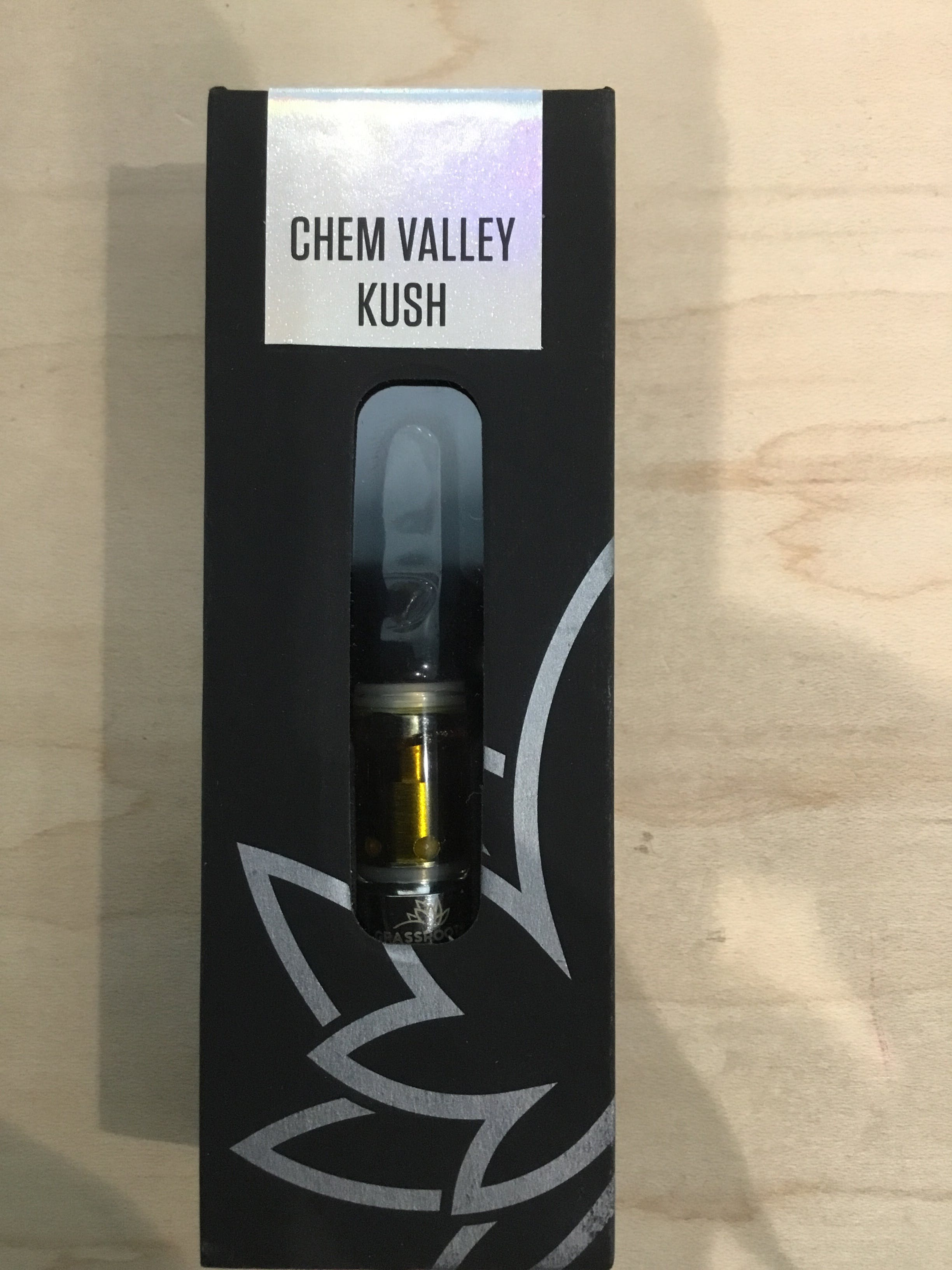 Chem Valley Kush Sauce Cart by Grassroots