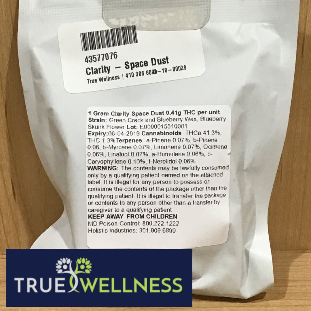 marijuana-dispensaries-true-wellness-in-aberdeen-clarity-space-dust-by-liberty