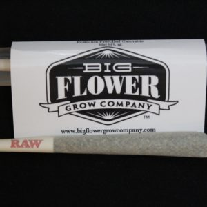 Classic Green 1 Gram Preroll by Big Flower Grow Co.