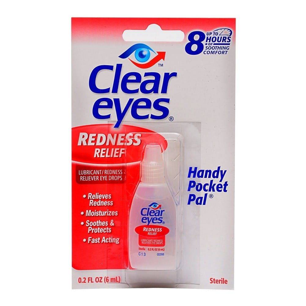 Clear Eyes (eye drops)