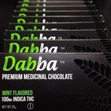 Dabba Mint Chocolate, 400mg