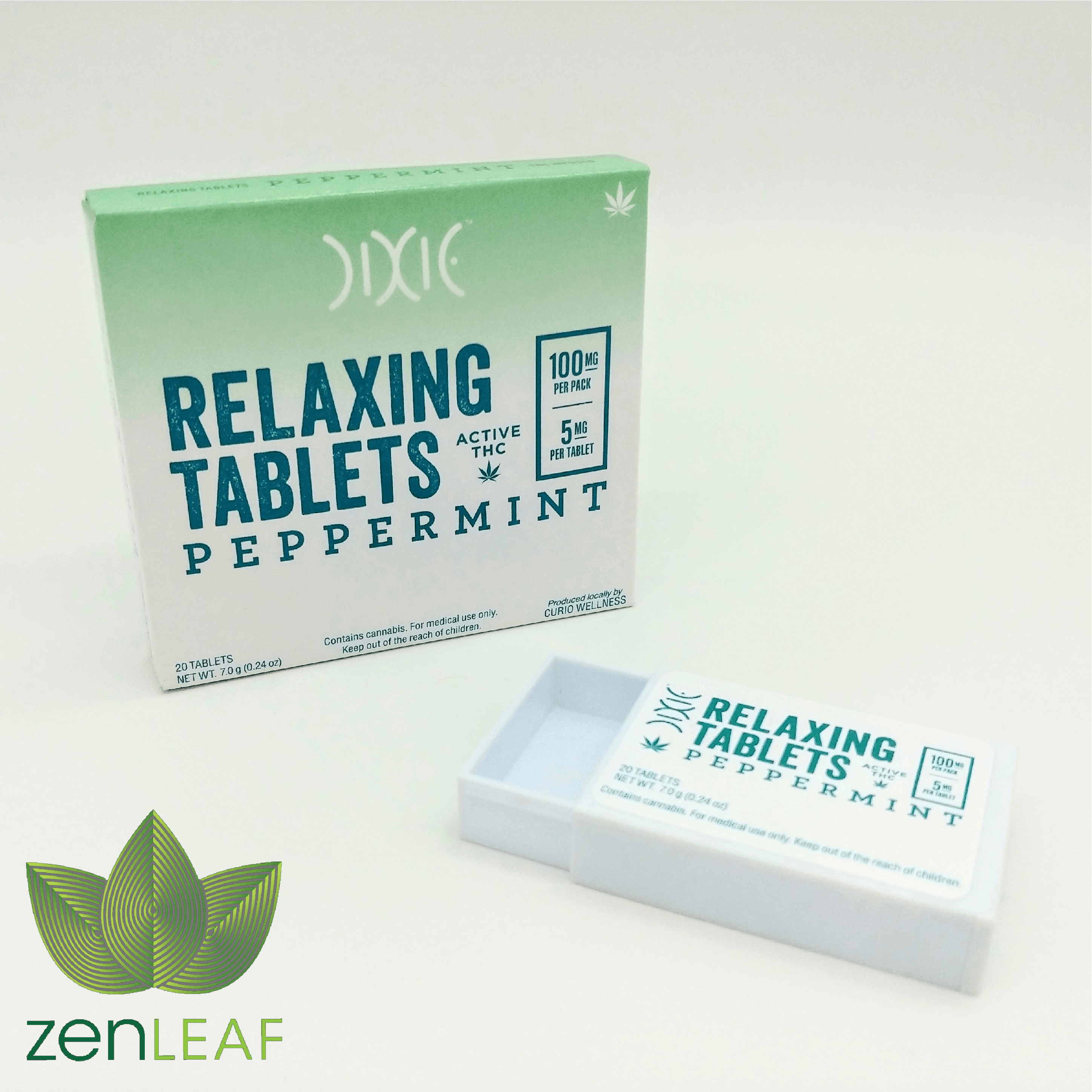Dixie Relaxing Tablets (Peppermint) - 100mg
