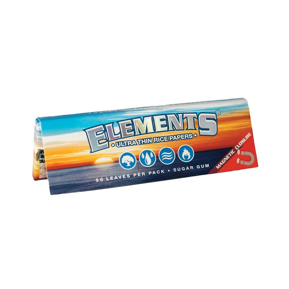 Elements Rice 1 1/4 Rolling Paper