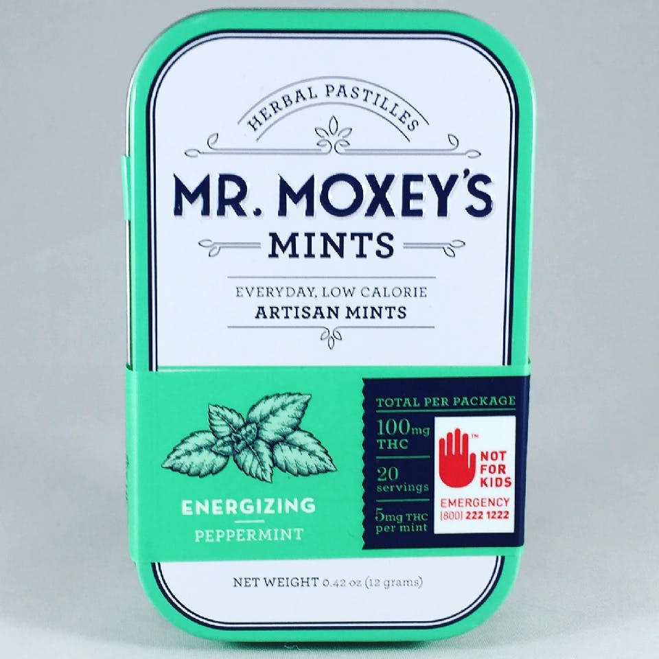 Energizing Peppermint by Mr. Moxey's Mints