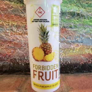 Forbidden Fruit Dehydrated Pineapple Slices 100mg