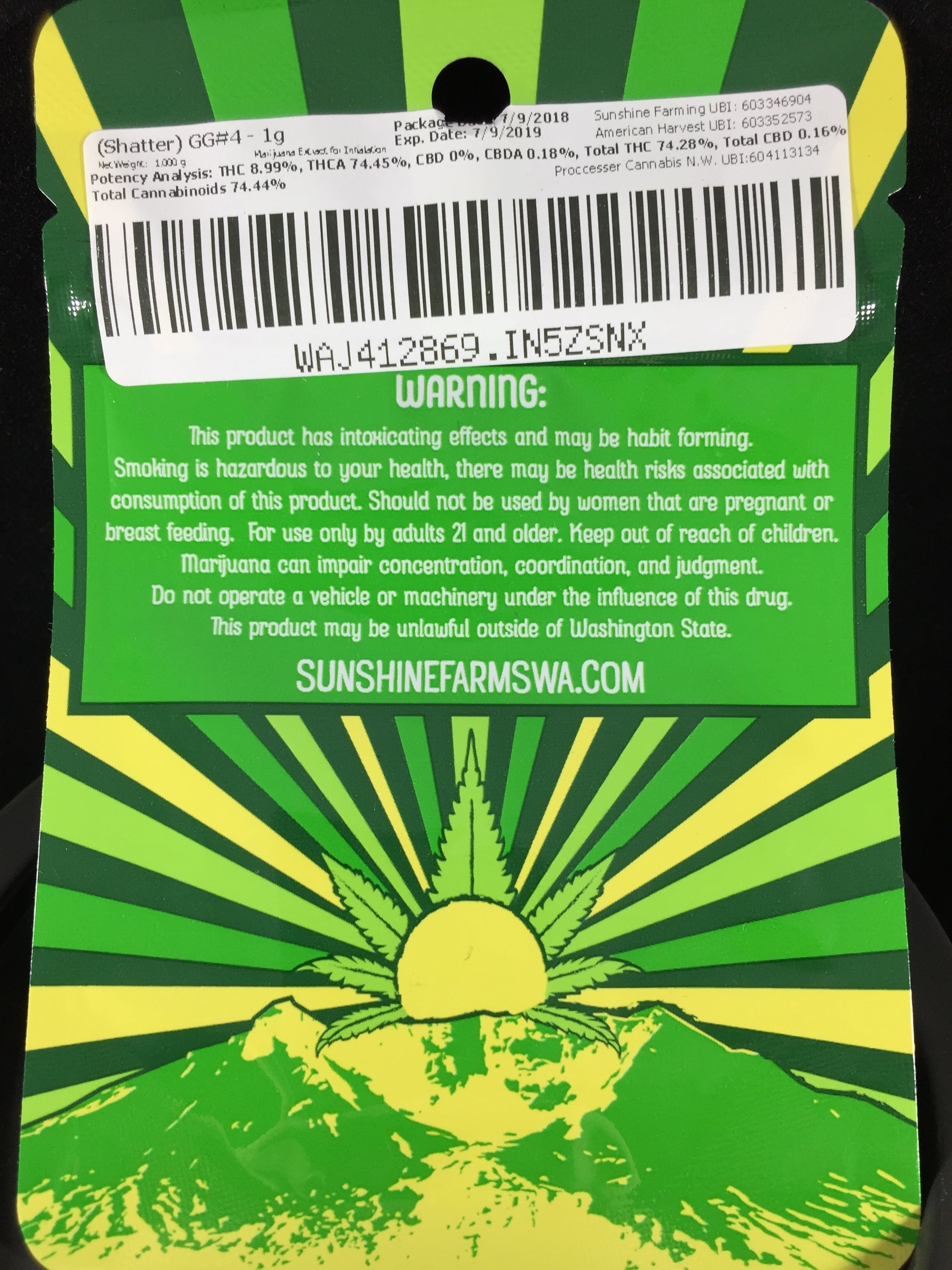 concentrate-gg-234-shatter-by-sunshine