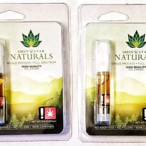 Green Star Naturals Pineapple Kush 1g Cart #2514 Green Leaf Special