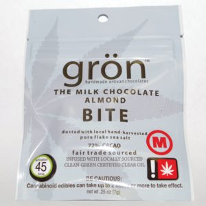 GRON - Milk Chocolate Almond Bite
