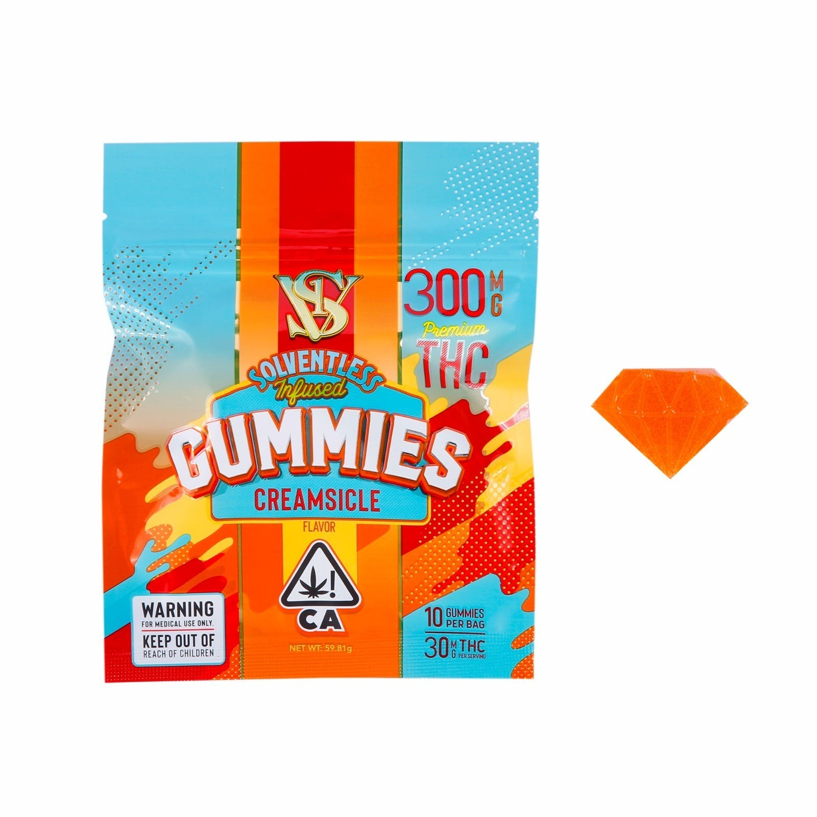 GUMMIES - CREAMSICLE