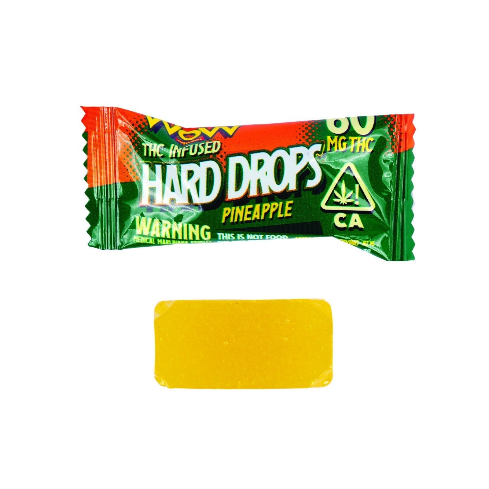 HARD DROPS - PINEAPPLE 60MG