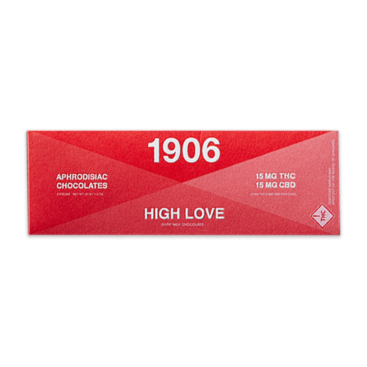 HIGH LOVE 5mg THC/5mg CBD