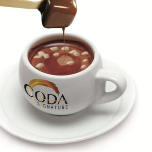 Hot Chocolate on a Spoon