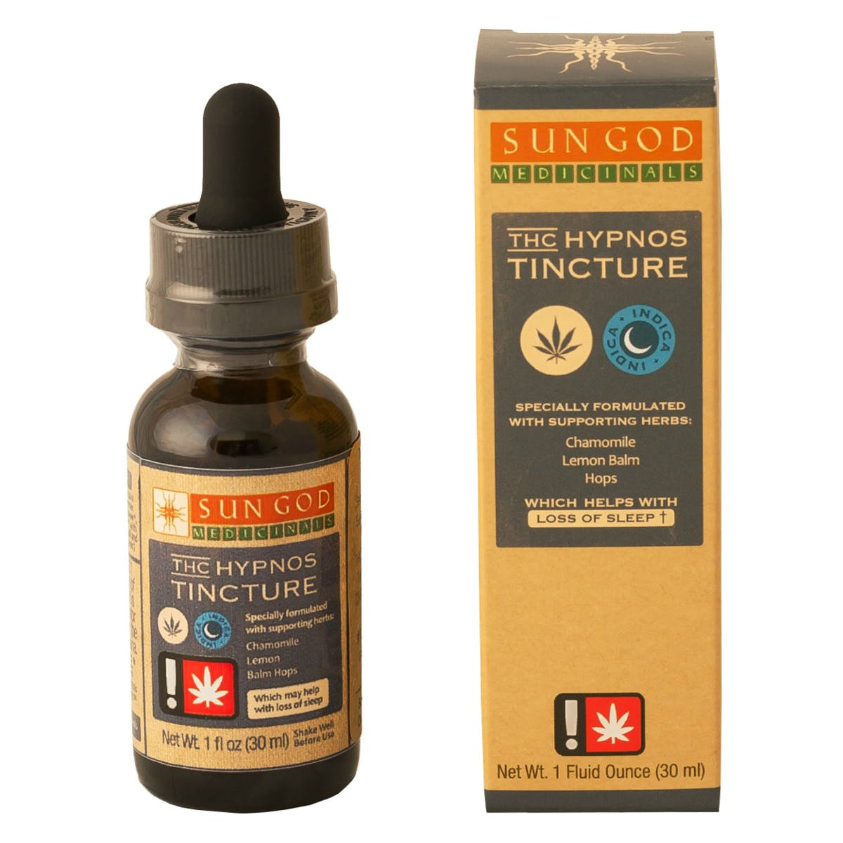 Hypnos Herbal Infused THC Tincture