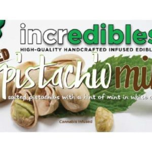 Incredibles - Salted Pistachio Mint Bar - 100mg