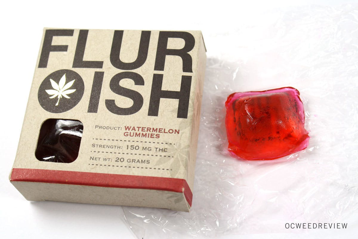 edible-flurish-indica-watermelon-gummies-150mg