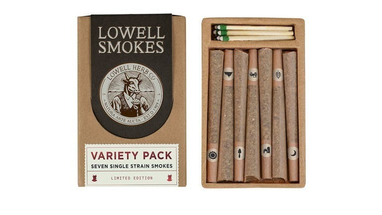 Lowell Smokes - Variety Pack - 3.5g Pack