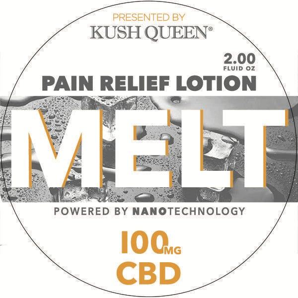 Melt Pain Relief Lotion 100mg CBD - Kush Queen