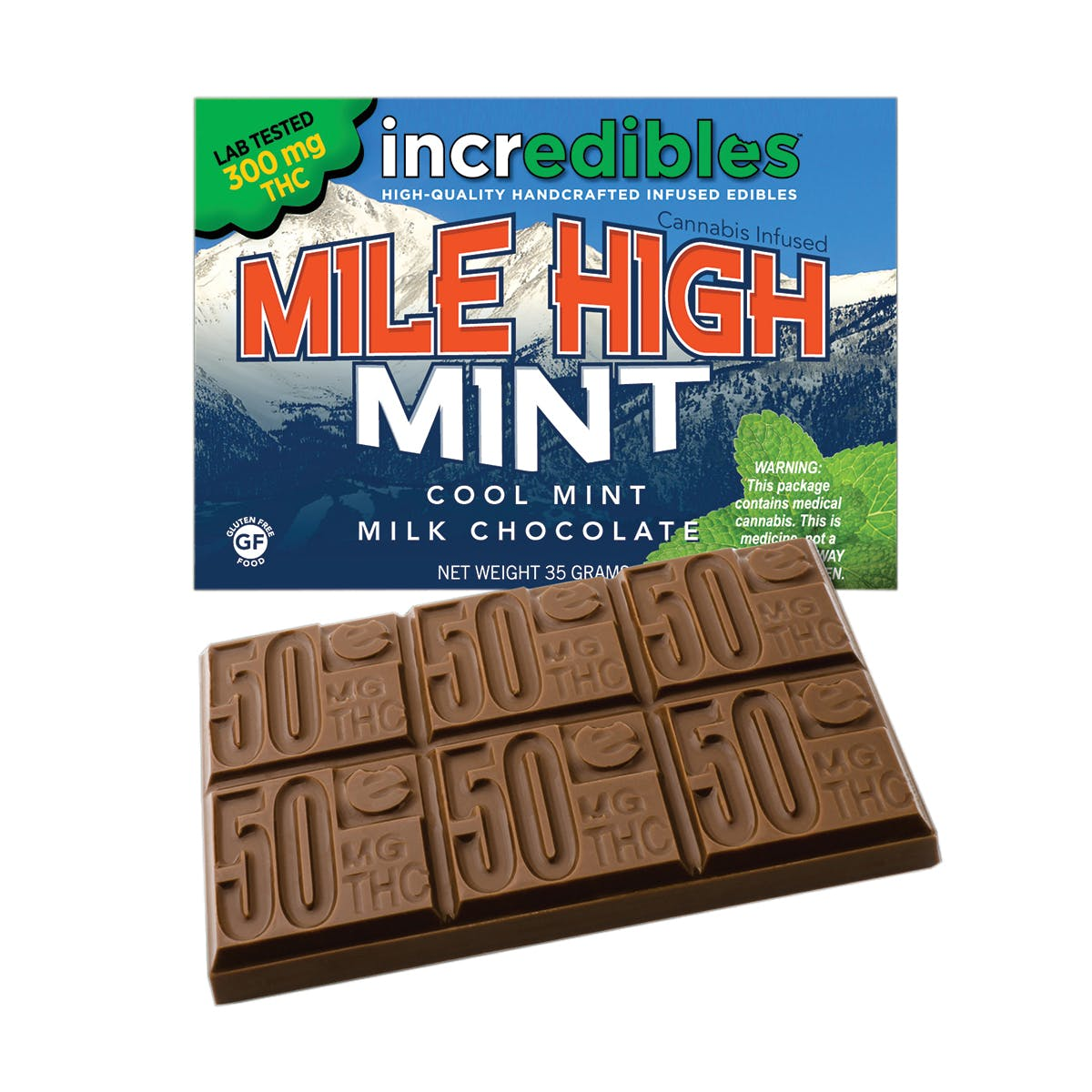 Mile High Mint, 100mg REC