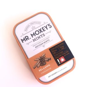 MR. MOXEY'S - Cinnamon Relaxing THC Mints