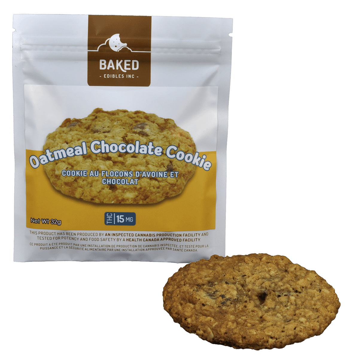 edible-baked-edibles-oatmeal-chocolate-cookie-15mg-thc