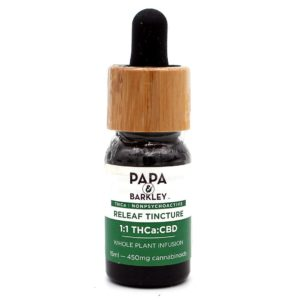 Papa & Barkley: 1:1 THCa CBD Releaf Tincture - 15ml