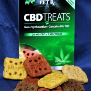 Pet Rx CBD Dog Treats 20mg package