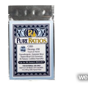 Pure Ratios CBD Pain Patch - Medical Only