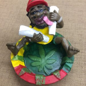 Rasta Man and Two Joints Ashtray