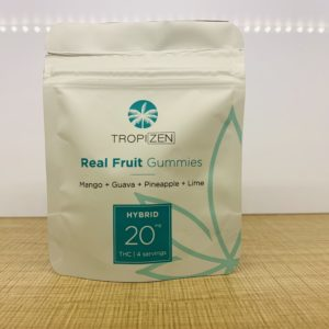 Real Fruit Gummies - Mixed Tropical Flavors