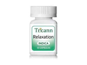 Relaxation Indica Capsules 75mg