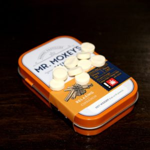 Relaxing Cinnamon Mints | 50mg THC (Mr. Moxey's Mints)