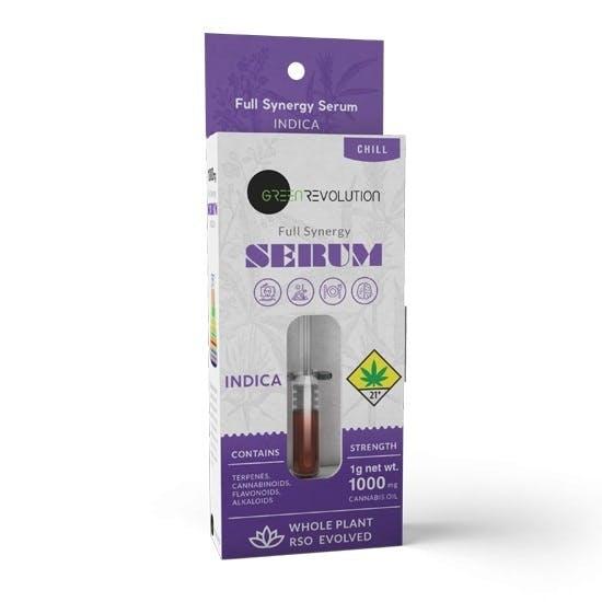 Serum Activated Oils - Indica