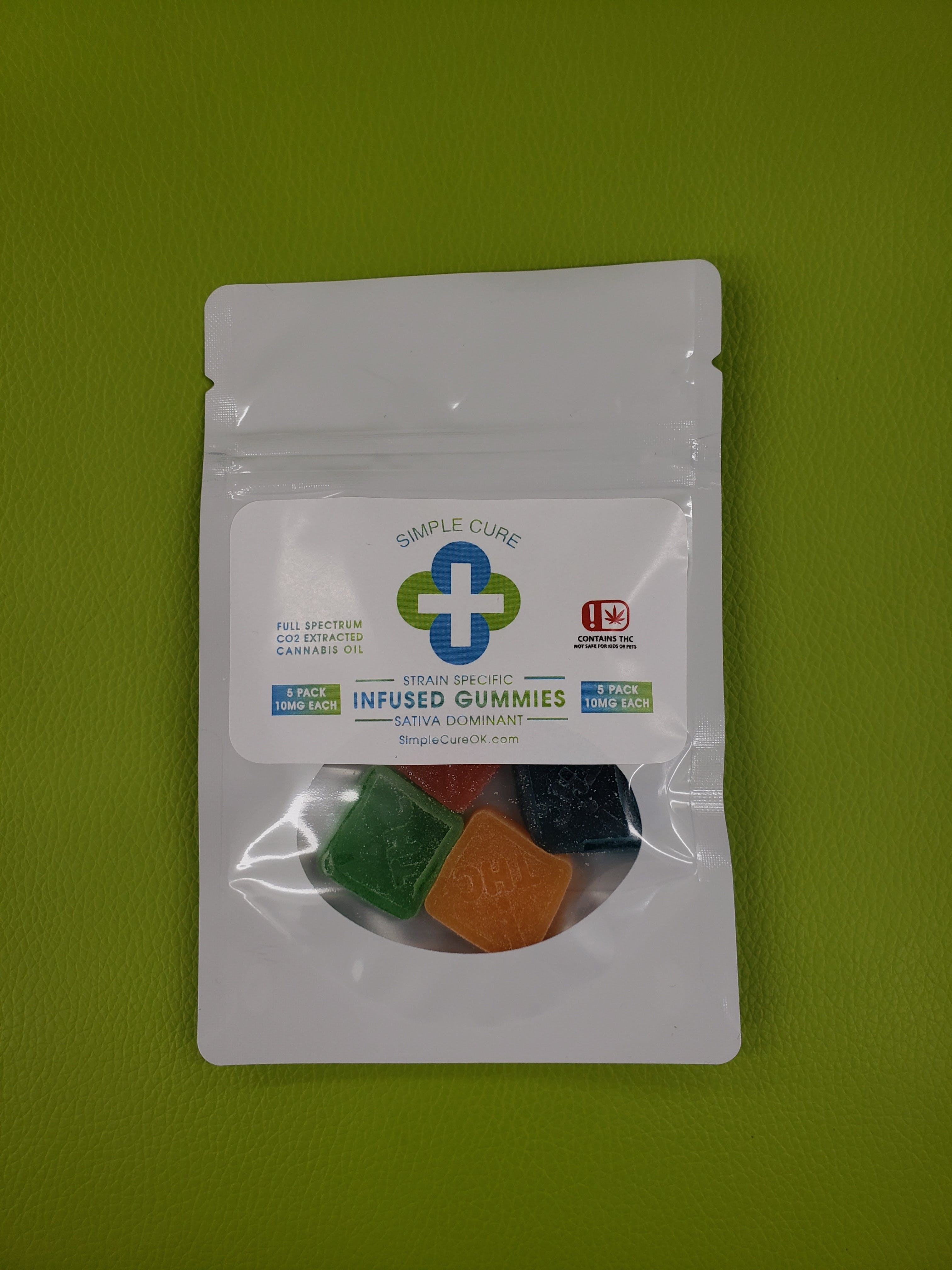 marijuana-dispensaries-1035-36th-ave-nw-norman-simple-cure-5pk-sativa-gummies-10mg-each-all-taxes-included