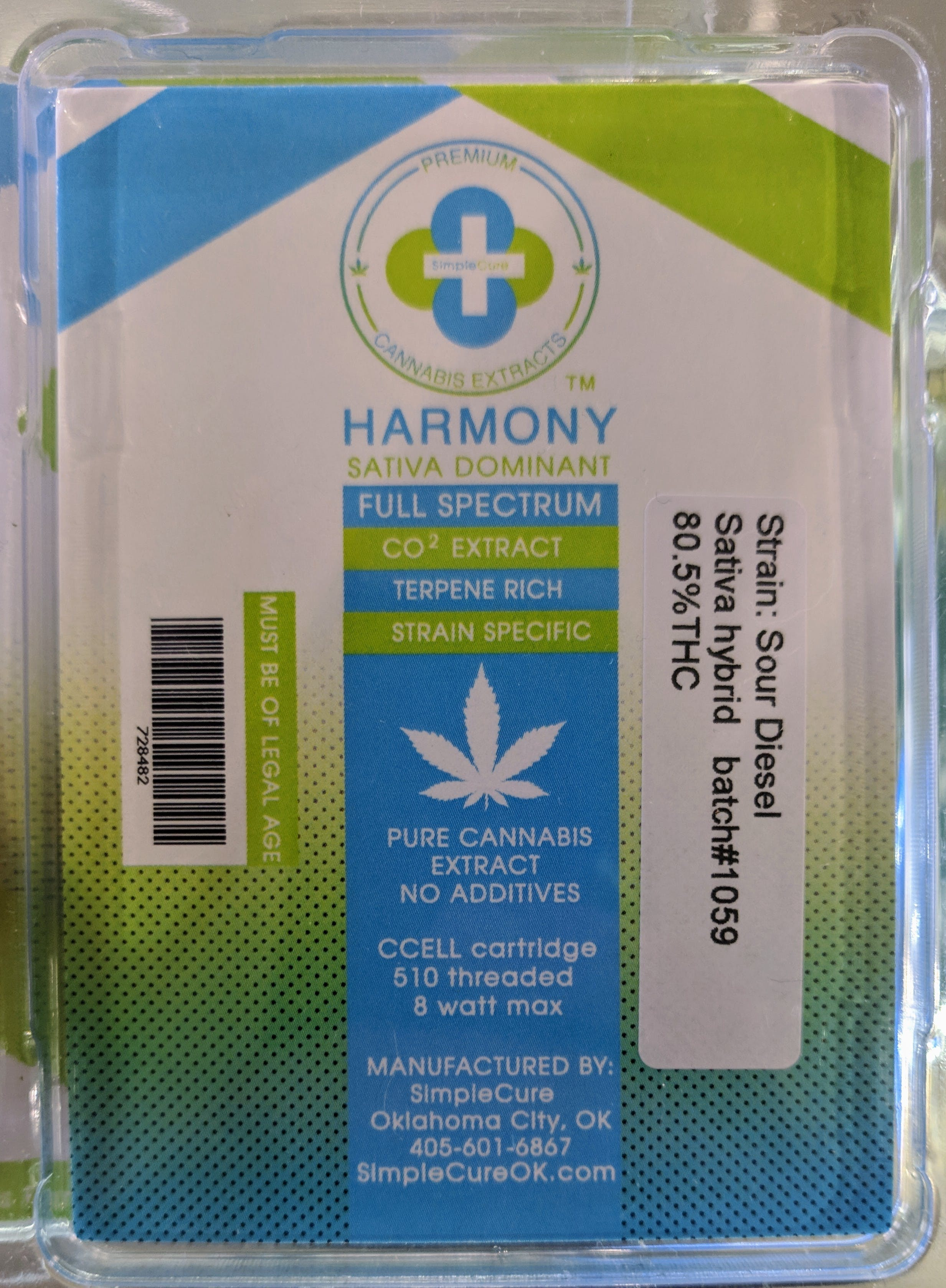 concentrate-sour-diesel-5g-cartridge-simple-cure