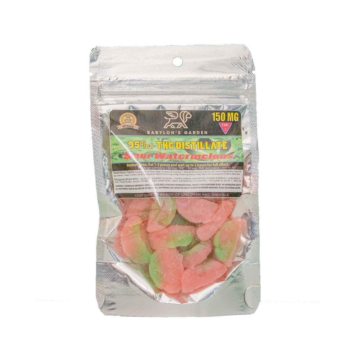 Sour Watermelons - 150mg