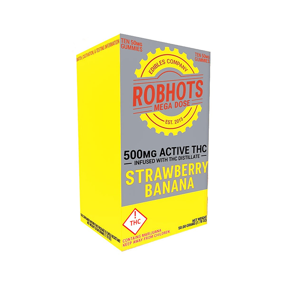 marijuana-dispensaries-sunrise-solutions-2c-llc-in-bailey-strawberry-banana-500mg-robhots-gummy-multipack