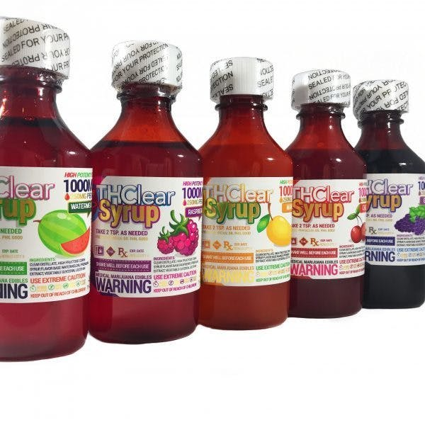THCLEAR SYRUP 1,000mg