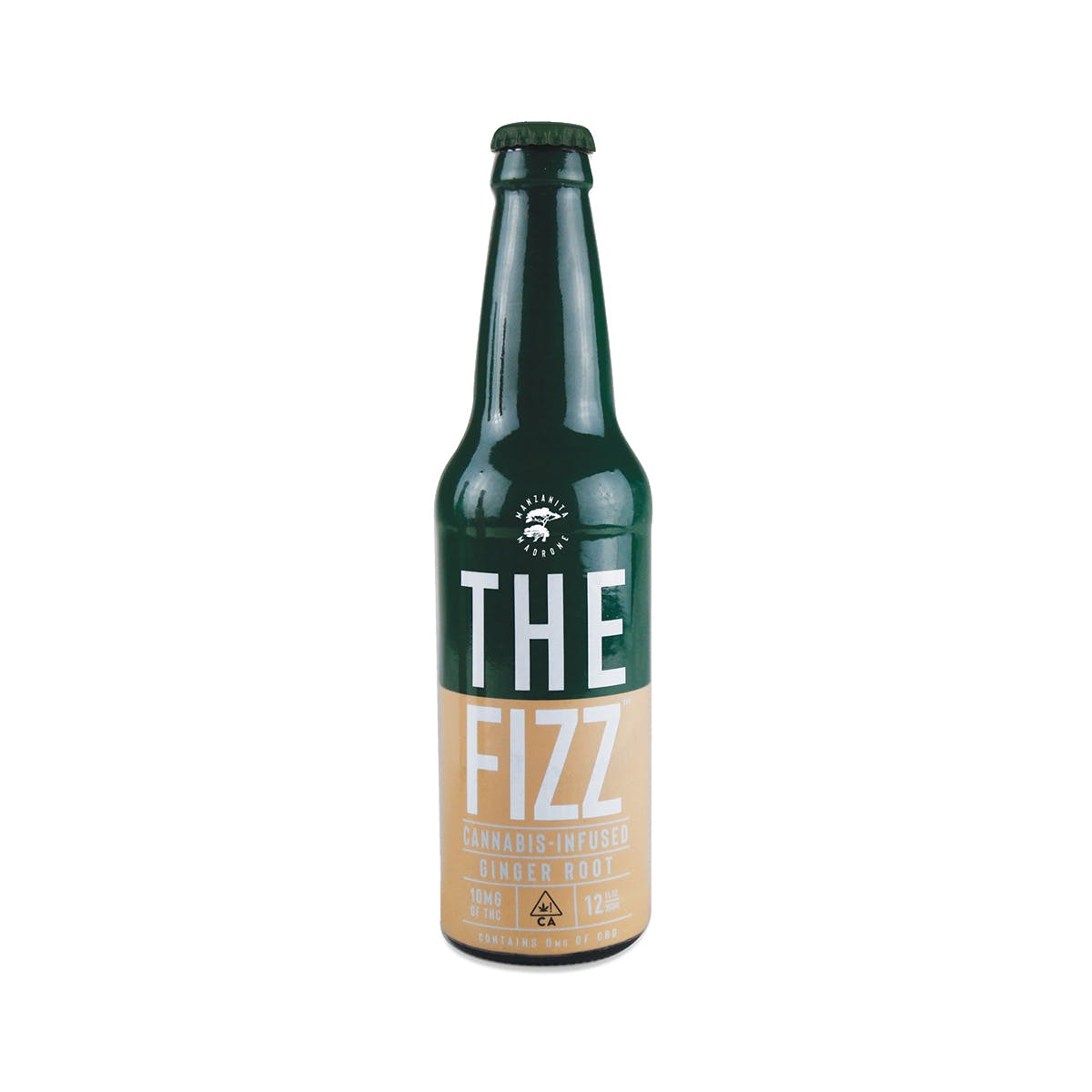THE FIZZ- GINGER ROOT- 10MG THC