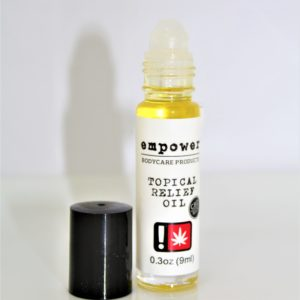White Label Topical Relief Oil 9ml   69.1mg CBD (Empower)