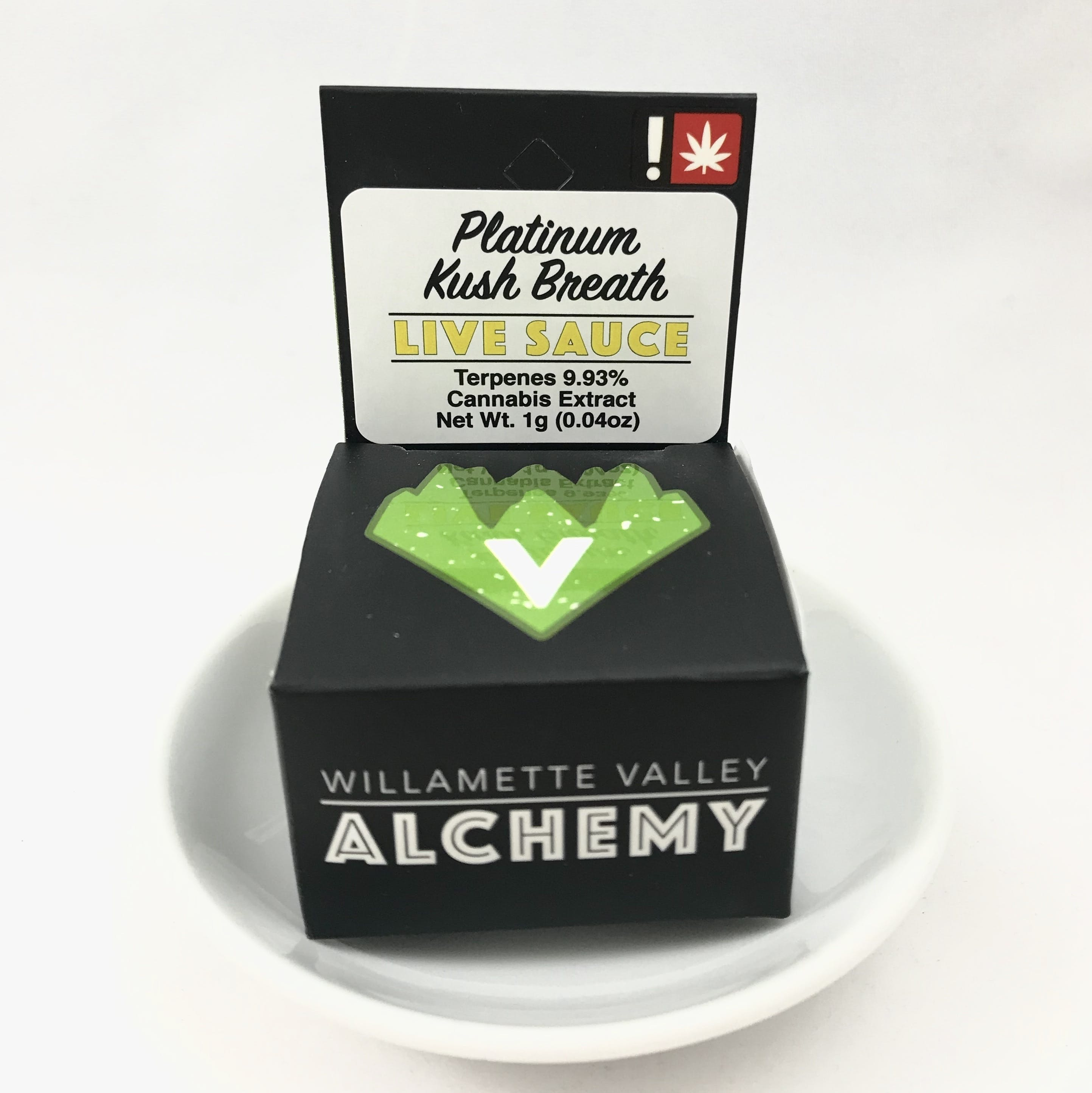 WILLAMETTE VALLEY ALCHEMY- Platinum Kush Breath Live Sauce